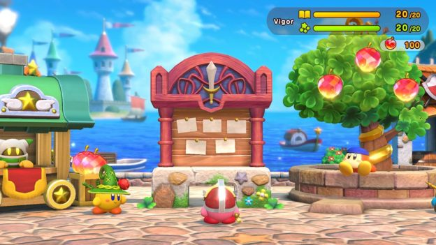 Choose your quest in Kirby's latest outing