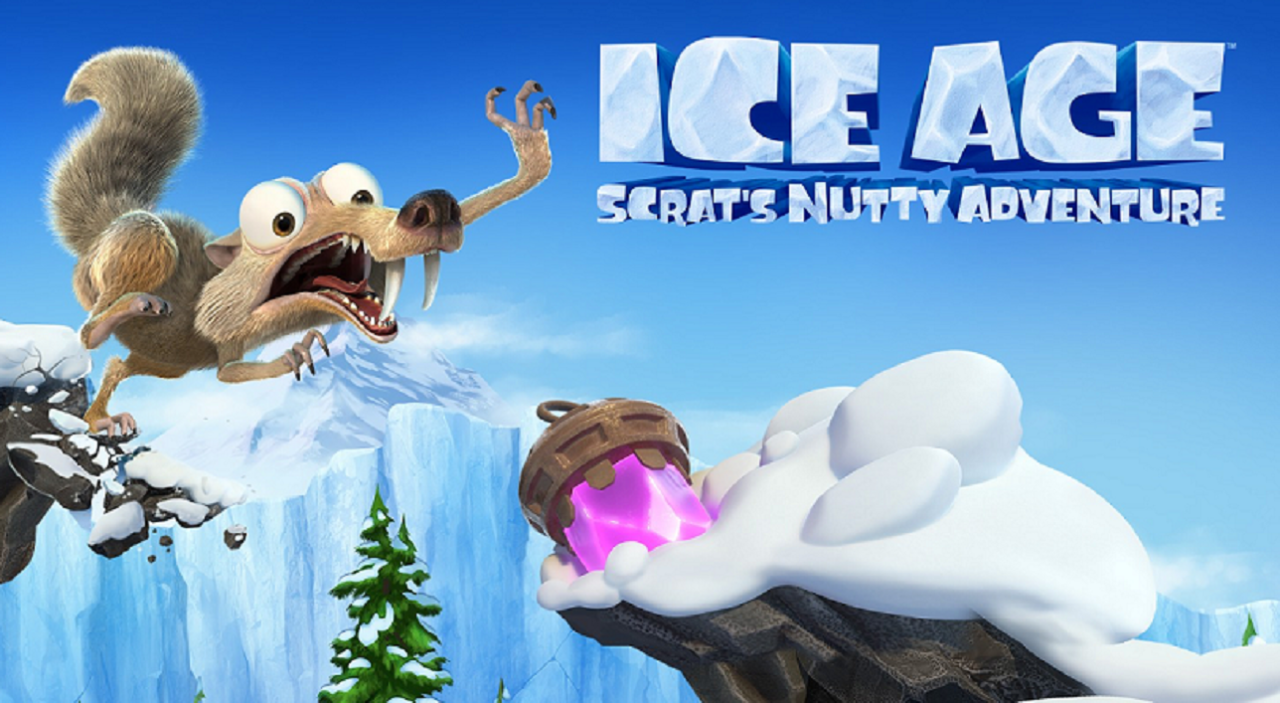 Ice Age: Scrat's Nutty Adventure! Launches Today on Nintendo Switch