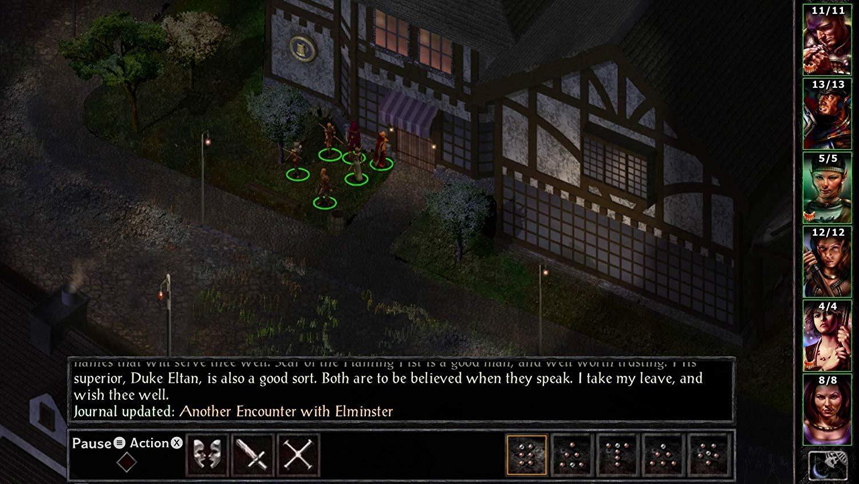 Baldur's Gate I & II Enhanced editions