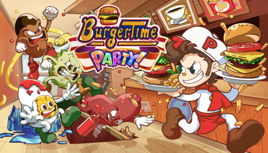 Review: BurgerTime Party! (Nintendo Switch)