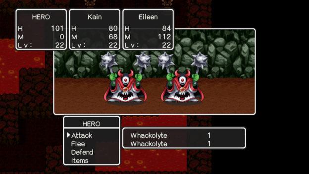 Dragon Quest II - fight!