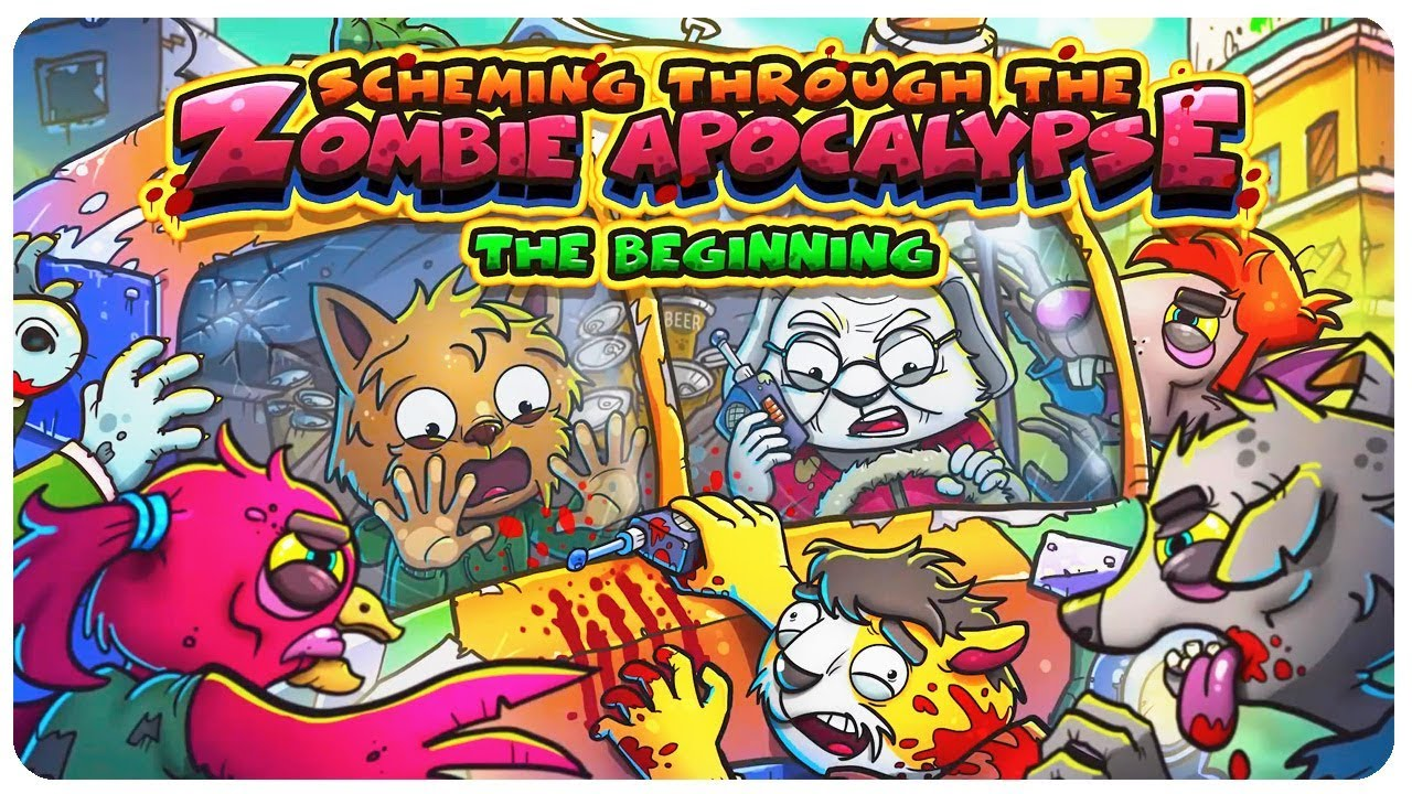 Screaming Through the Zombie Apocalypse: The Beginning