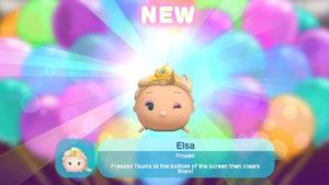 Elsa in Disney Tsum Tsum Festival