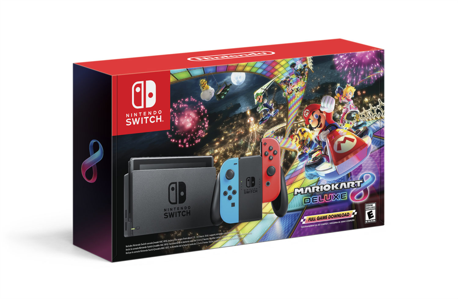 Nintendo Switch - Mario Kart 8 bundle - Black Friday