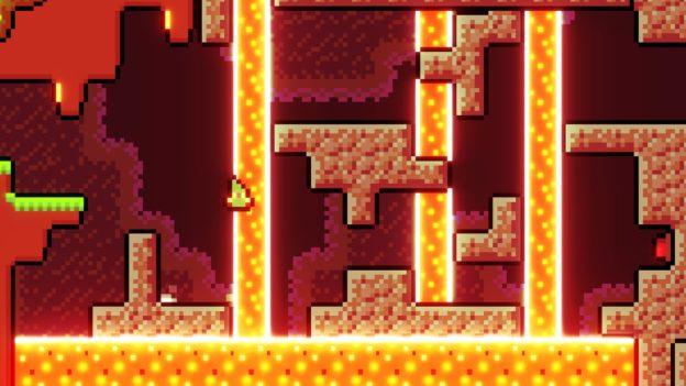 Reventure screenshot 4 - lava