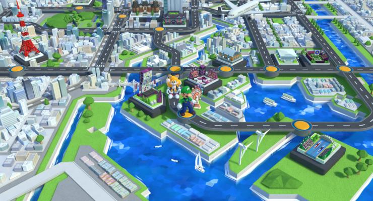 Tokyo 2020 Mario Sonic Olympics