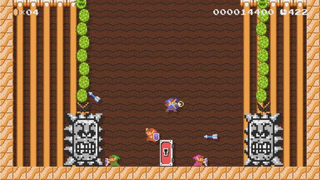 Super Mario Maker 2 version 2 update - Link