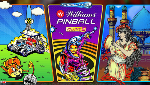 Review: Pinball FX3: Williams Pinball – Volume 5 (Nintendo Switch)