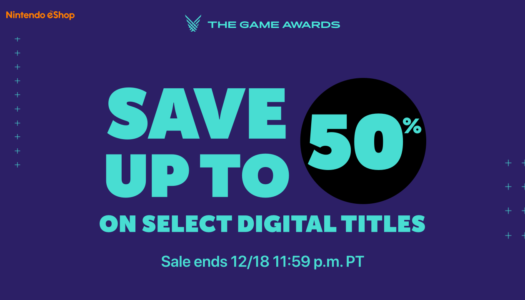The Game Awards sparks digital discounts for Nintendo Switch