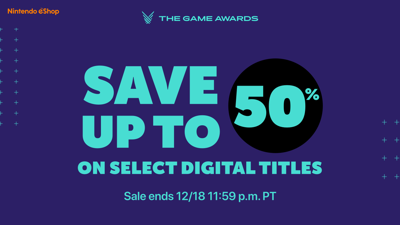 Nintendo Switch - The Game Awards eShop sale