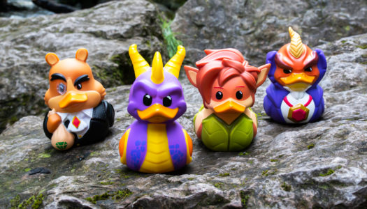 Get tubbin' with collectible cosplaying ducks from Numskull