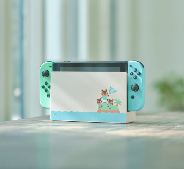 Nintendo Switch - Animal Crossing New Horizons - console