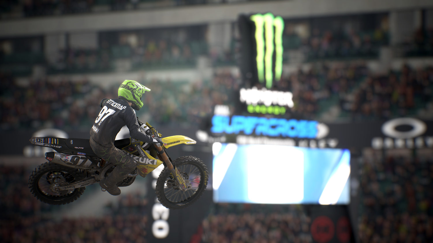 Monster Energy Supercross - Adam Enticknap - intendo Switch