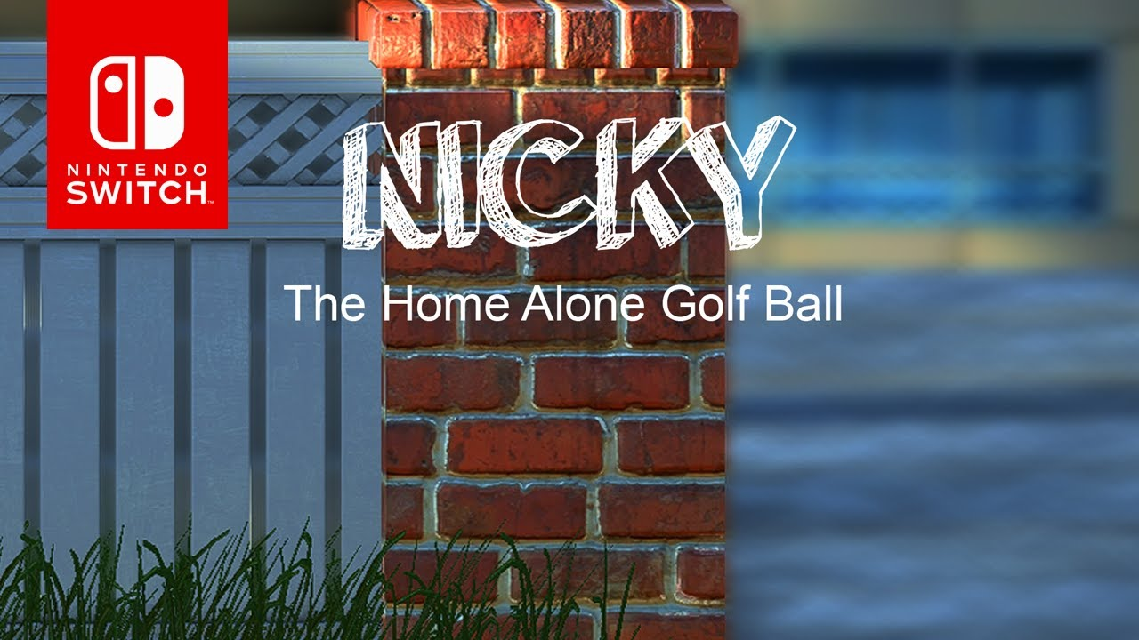 Nicky-The Home Along Golf Ball