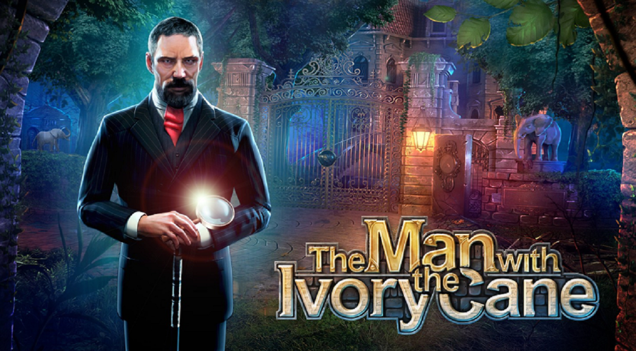 Man With The Ivory Cane