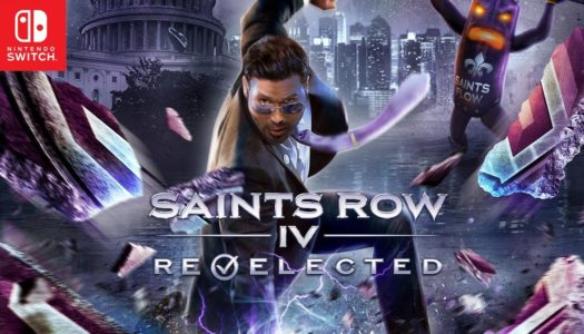 Saints Row 4: Re-Elected releases on March 27th for the Nintendo Switch
