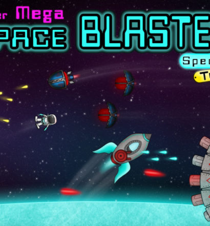 Super Mega Space Blaster Special Turbo - Nintendo Switch - title screen