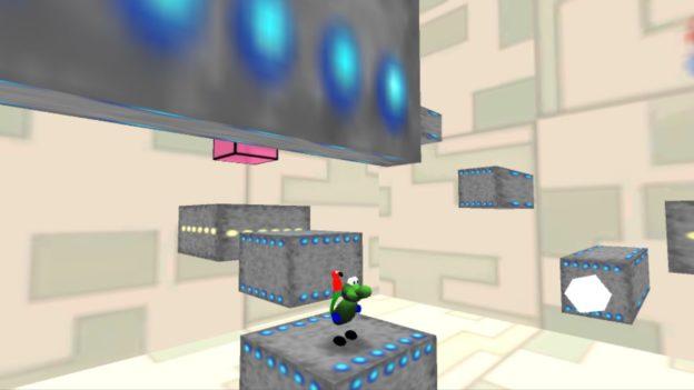 Regina & Mac - Nintendo Wii U eShop - screenshot - grey blocks