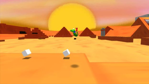 Regina & Mac - Nintendo Wii U eShop - screenshot - pyramids