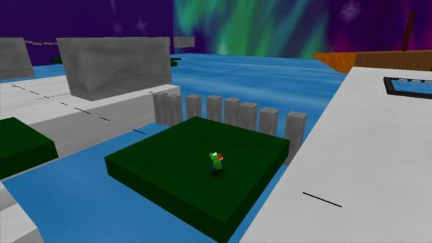 Regina & Mac - Nintendo Wii U eShop - screenshot - water blocks