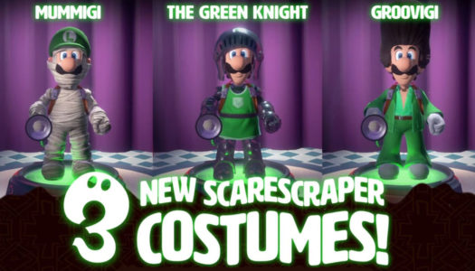 First wave of DLC for Luigi's Mansion 3