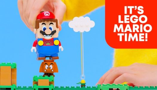 LEGO joins forces with Nintendo to bring Super Mario to life this August