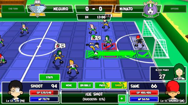 Ganbare! Super Strikers - screenshot 2