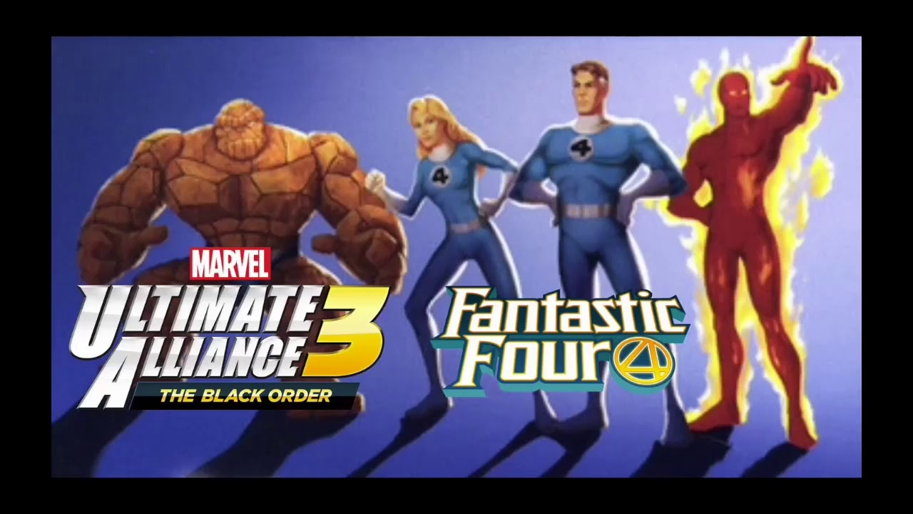 Marvel Ultimate Alliance - Fantastic Four expansion pack