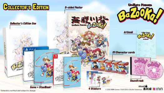 Umihara Kawase Bazooka! is getting physical