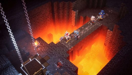 Minecraft Dungeons joins this week's eShop roundup