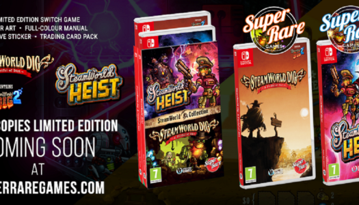 SteamWorld Physical Editions Announced By Super Rare Games
