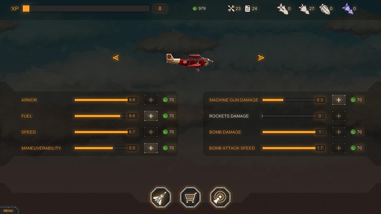 Overview: Plane Evolution (Nintendo Change)