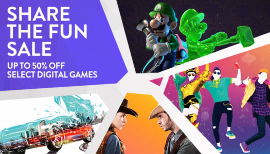 Save up to 50% on multiplayer Switch games through August 30th