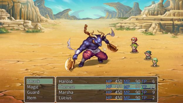 RPG Maker MV (Nintendo Swap)