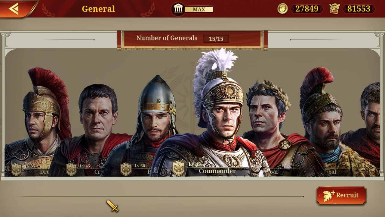 Evaluate: Nice Conquerer: Rome (Nintendo Change)