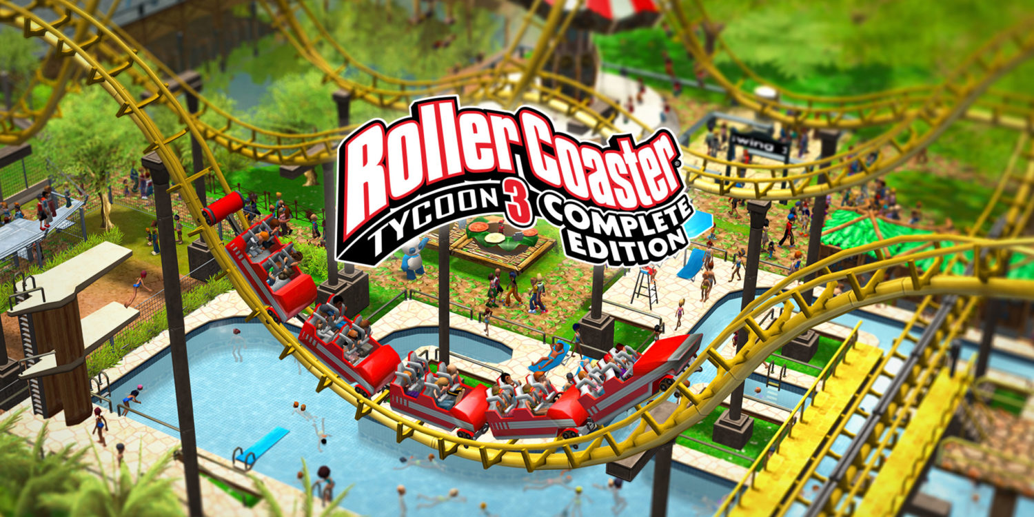 roller coaster tycoon 3 nintendo switch review