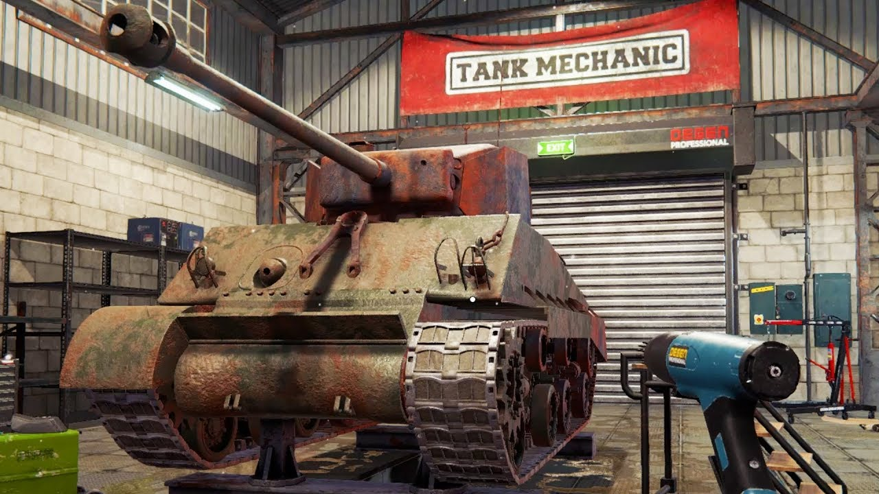 Evaluate: Tank Mechanic Simulator (Nintendo Change)