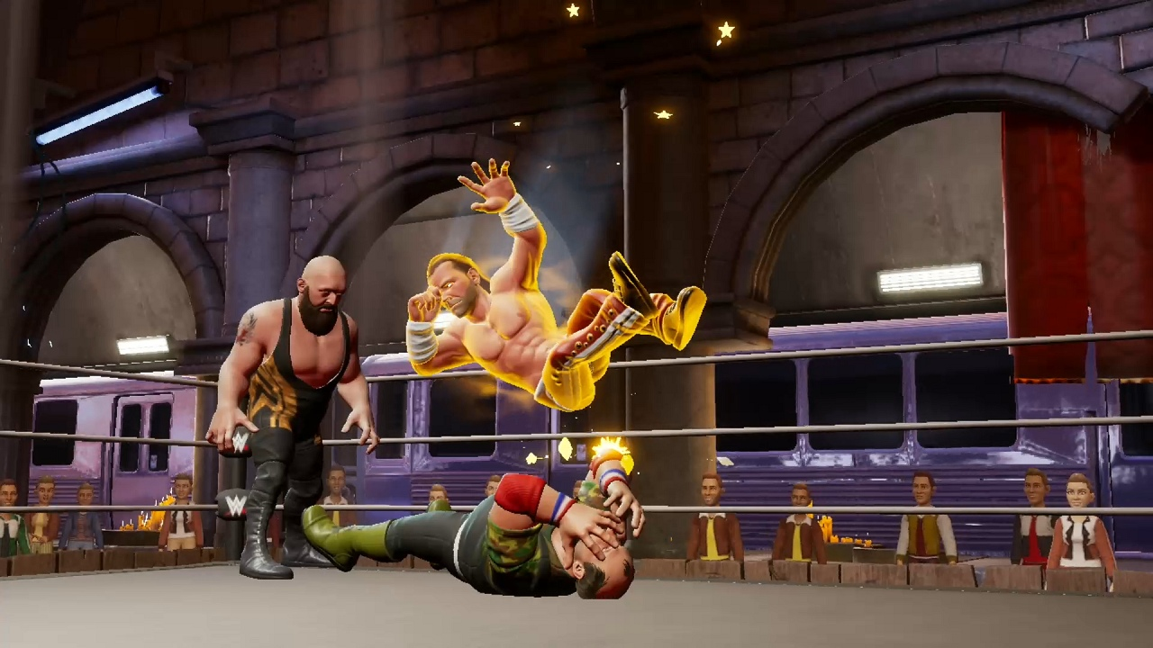 Overview: WWE 2K Battlegrounds (Nintendo Change)