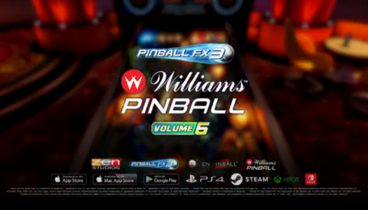 Review: Pinball FX3: Williams Pinball – Volume 6 (Nintendo Switch)
