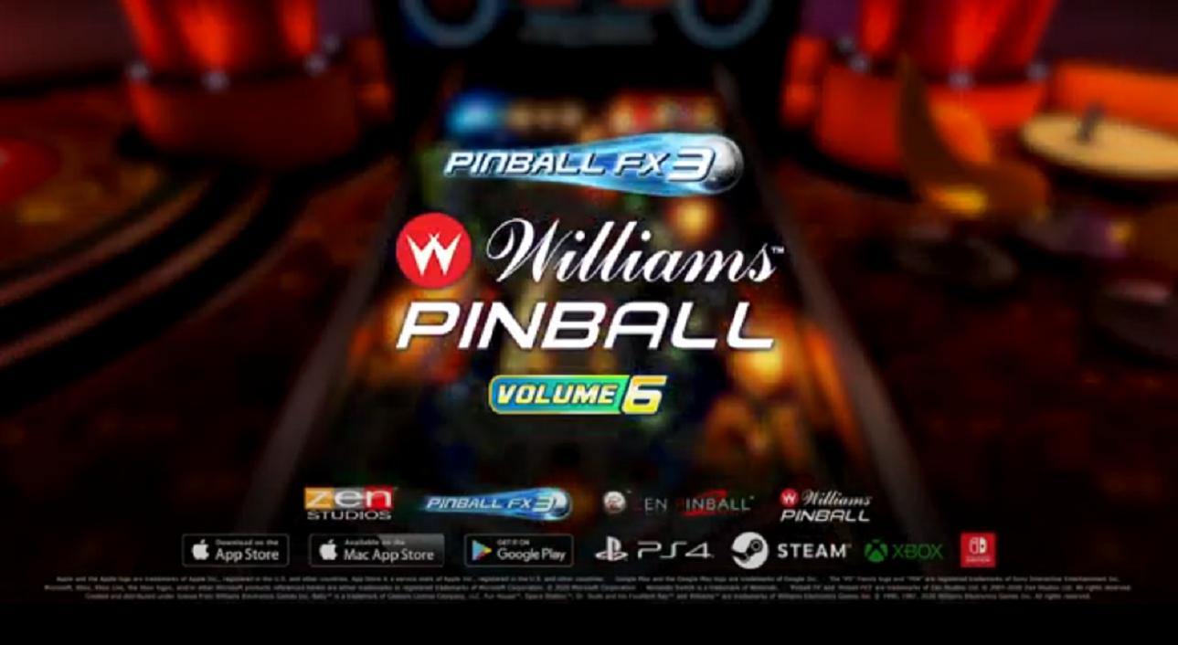 Williams Pinball - Volume 6
