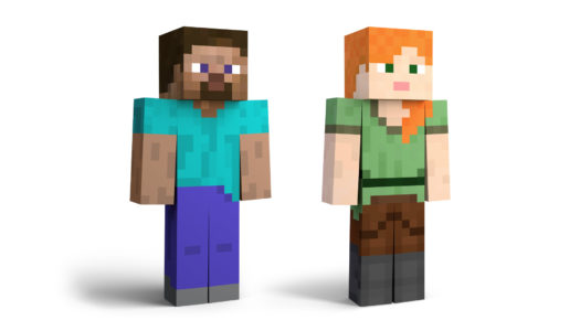 Steve and Alex from Minecraft join the Super Smash Bros. Ultimate Roster