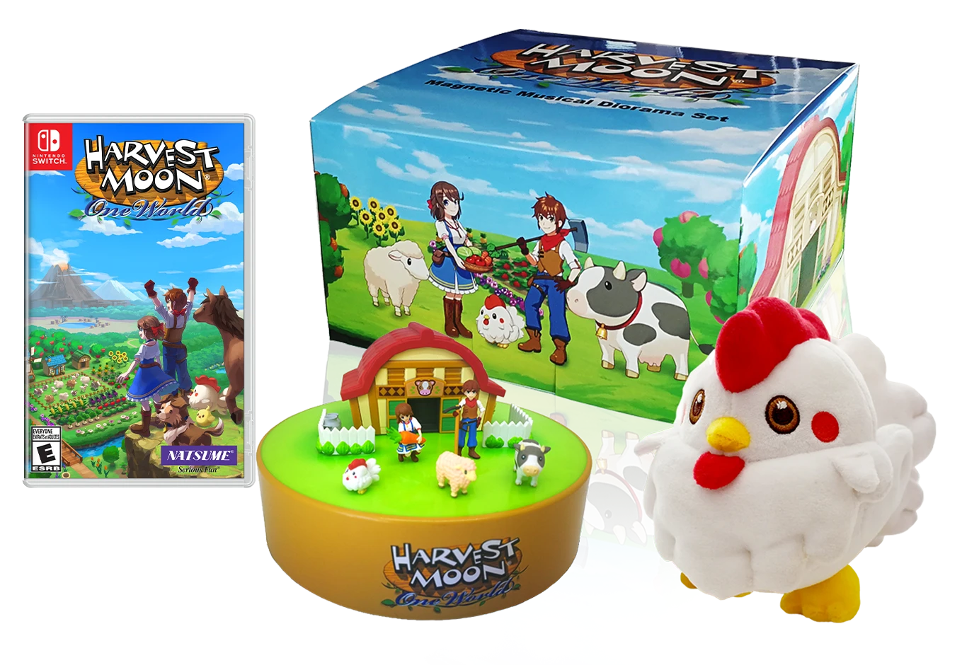 Pre-orders now open for Harvest Moon: One World Collector's Edition