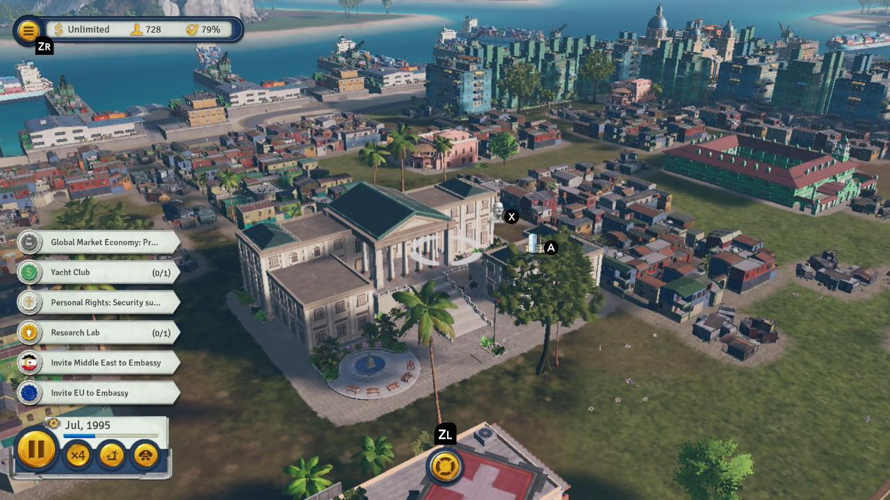 Review: Tropico 6 (Nintendo Switch)