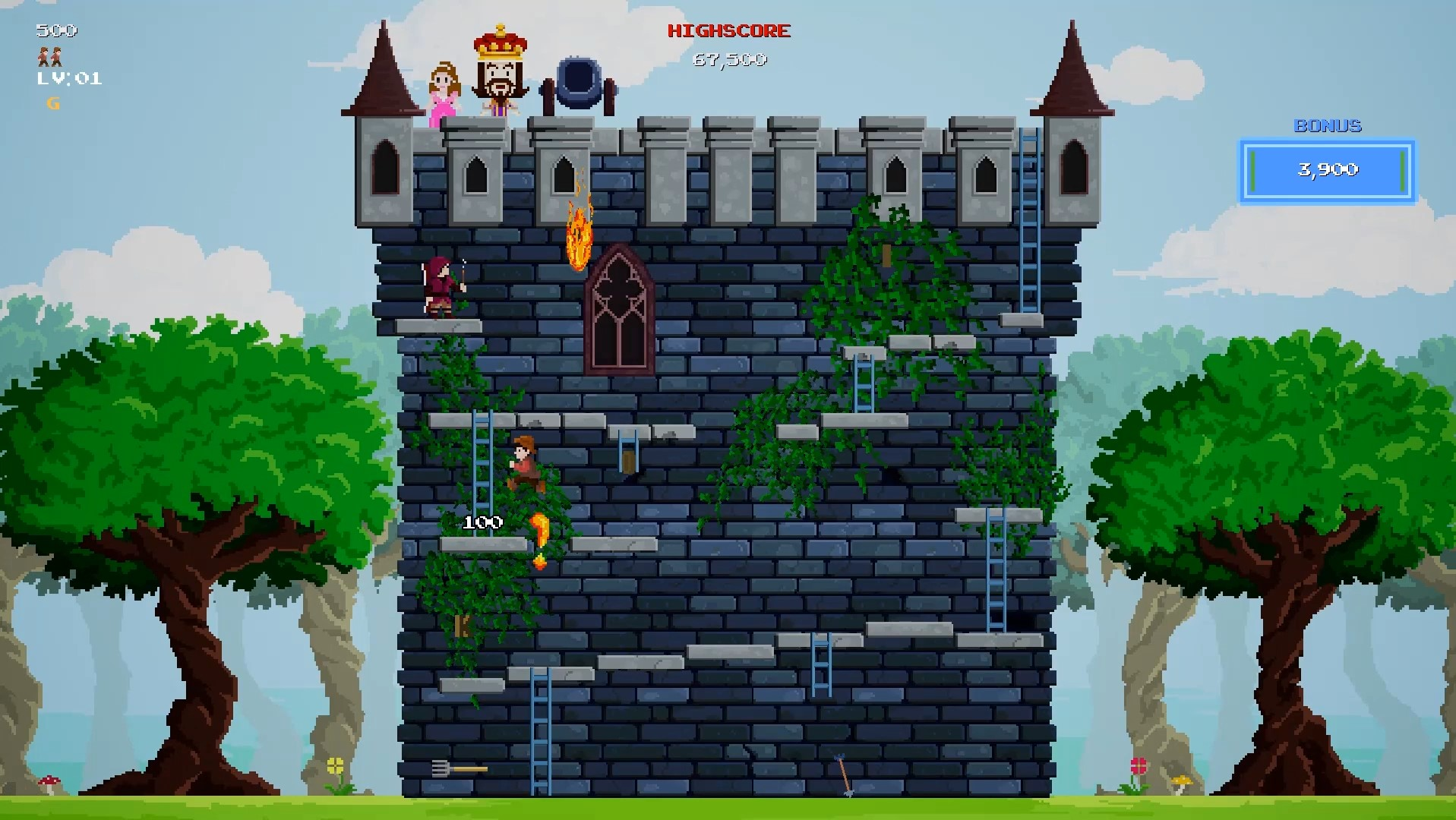 Review: Castle Kong (Nintendo Switch)