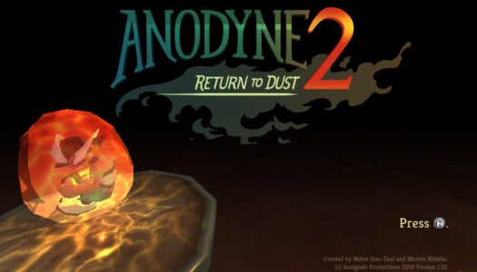 Review: Anodyne 2: Return to Dust (Nintendo Switch)