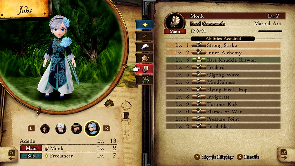 Review: Bravely Default II (Nintendo Switch)