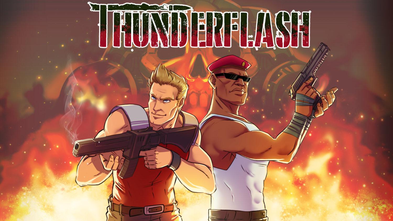 Thunderflash - Nintendo Switch eShop - hero