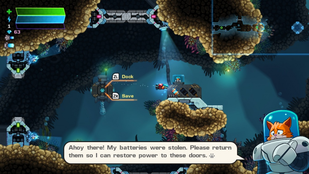 Review: Astro Aqua Kitty (Nintendo Switch)