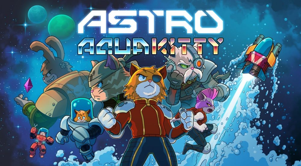 Astro Aqua Kitty - Nintendo Switch