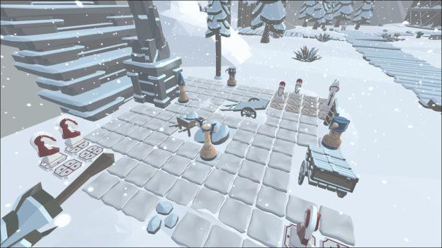 Nintendo Switch eShop - Chess Knights - Viking Lands - screen 2